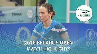 【Video】MIYUU Kihara VS MIKHAILOVA Polina, 2018 Challenge Belarus Open semifinal