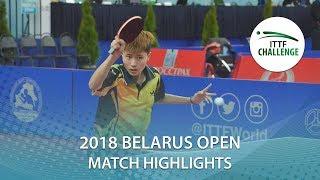 【Video】IZUMO Miku VS HE Aige, 2018 Challenge Belarus Open finals