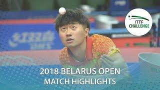 【Video】ZHAO Zihao VS YIGENLER Abdullah, 2018 Challenge Belarus Open quarter finals