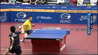 【Video】YOSHIMURA Maharu VS XU Xin, 2015  Japan Open  finals