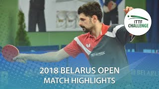 【Video】ENGEMANN Gerrit VS ALAMIAN Nima, 2018 Challenge Belarus Open best 64