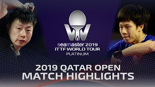 【Video】MA Long VS LIN Gaoyuan, 2019 Platinum Qatar Open finals