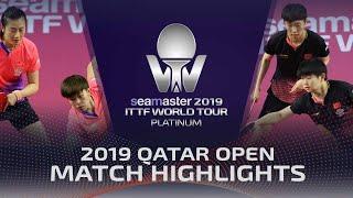 【Video】DING Ning・WANG Yidi VS SUN Yingsha・WANG Manyu, 2019 Platinum Qatar Open finals