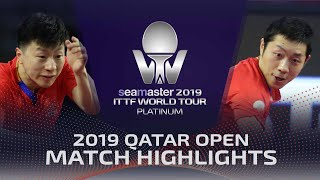 【Video】MA Long VS XU Xin, 2019 Platinum Qatar Open semifinal