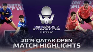 【Video】HO Kwan Kit・WONG Chun Ting VS BOLL Timo・FRANZISKA Patrick, 2019 Platinum Qatar Open finals