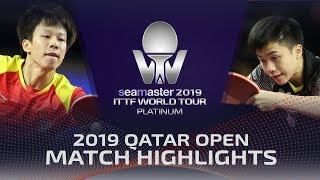 【Video】LIN Yun-Ju VS LIN Gaoyuan, 2019 Platinum Qatar Open quarter finals