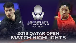 【Video】XU Xin VS FRANZISKA Patrick, 2019 Platinum Qatar Open quarter finals