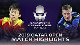 【Video】KARLSSON Mattias VS LIN Gaoyuan, 2019 Platinum Qatar Open semifinal