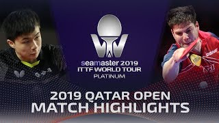【Video】LIN Yun-Ju VS OVTCHAROV Dimitrij, 2019 Platinum Qatar Open best 16