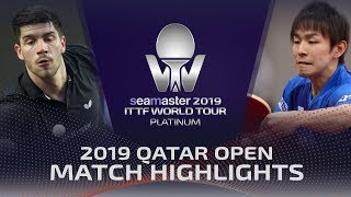 【Video】KOKI Niwa VS FRANZISKA Patrick, 2019 Platinum Qatar Open best 16