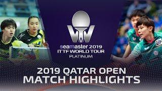 【Video】LIN Yun-Ju・CHENG I-Ching VS MASATAKA Morizono・MIMA Ito, 2019 Platinum Qatar Open semifinal