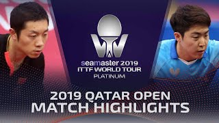 【Video】LIM Jonghoon VS XU Xin, 2019 Platinum Qatar Open best 32