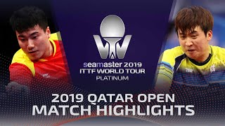 【Video】LIANG Jingkun VS JEOUNG Youngsik, 2019 Platinum Qatar Open best 32