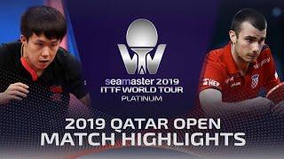 【Video】WANG Chuqin VS PUCAR Tomislav, 2019 Platinum Qatar Open best 64