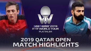 【Video】PITCHFORD Liam VS ALAMIYAN Noshad, 2019 Platinum Qatar Open best 64
