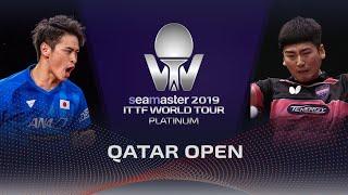 【Video】SEO Hyundeok VS YUYA Oshima, 2019 Platinum Qatar Open best 128