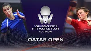 【Video】ODOROVA Eva VS MITTELHAM Nina, 2019 Platinum Qatar Open best 128