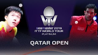 【Video】WANG Chuqin VS LEBESSON Emmanuel, 2019 Platinum Qatar Open best 128