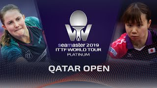 【Video】WINTER Sabine VS MISAKI Morizono, 2019 Platinum Qatar Open best 128