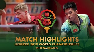 【Video】NGUYEN Duc Tuan VS JUHASZ Patrik, 2019 World Table Tennis Championships