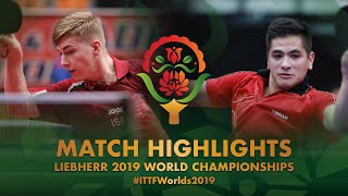 【Video】ALLEGRO Martin VS JUHASZ Patrik, 2019 World Table Tennis Championships