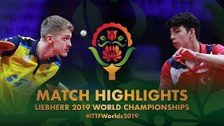 【Video】KALLBERG Anton VS YIGENLER Abdullah, 2019 World Table Tennis Championships