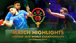 【Video】CORREA Cecilio・MEDINA Jan VS MICHELY Gilles・REINHOLDS Arturs, 2019 World Table Tennis Championships best 128