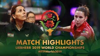 【Video】GASNIER Laura VS SAHAKIAN Mariana, 2019 World Table Tennis Championships