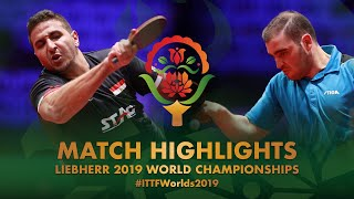 【Video】ASSAR Khalid VS SGOUROPOULOS Ioannis, 2019 World Table Tennis Championships