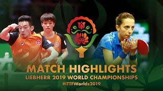 【Video】WONG Chun Ting・DOO Hoi Kem VS PLETEA Cristian・SAMARA Elizabeta, 2019 World Table Tennis Championships best 64