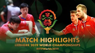 【Video】POLANSKY Tomas・SIRUCEK Pavel VS MA Long・WANG Chuqin, 2019 World Table Tennis Championships best 64