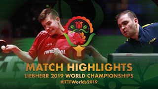 【Video】SGOUROPOULOS Ioannis VS SIPOS Rares, 2019 World Table Tennis Championships best 32