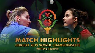 【Video】SZOCS Bernadette VS ORTEGA Daniela, 2019 World Table Tennis Championships best 128