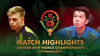 【Video】MOREGARD Truls VS HO Kwan Kit, 2019 World Table Tennis Championships best 128