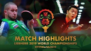 【Video】XU Xin VS ZIBRAT Jan, 2019 World Table Tennis Championships best 128