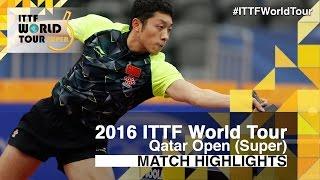 【Video】XU Xin VS FAN Zhendong, 2016 Qatar Open  semifinal