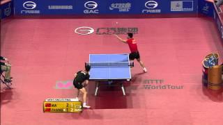 【Video】ZHANG Jike VS MA Long, 2015  German Open  finals