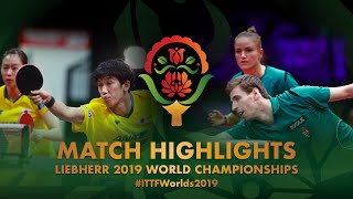 【Video】SZUDI Adam・PERGEL Szandra VS MAHARU Yoshimura・KASUMI Ishikawa, 2019 World Table Tennis Championships best 16