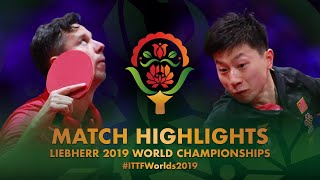 【Video】MA Long VS SAMSONOV Vladimir, 2019 World Table Tennis Championships best 32