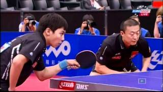 【Video】MA Long・XU Xin VS ChenQi・Ma Lin, 2011 World Table Tennis Championships finals