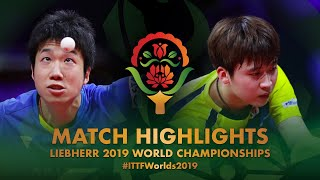 【Video】JUN Mizutani VS JEOUNG Youngsik, 2019 World Table Tennis Championships best 32