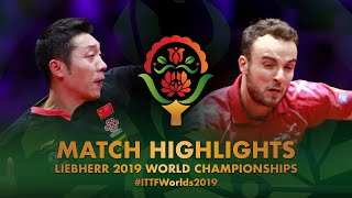 【Video】GAUZY Simon VS XU Xin, 2019 World Table Tennis Championships best 32