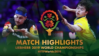【Video】BOLL Timo VS MASATAKA Morizono, 2019 World Table Tennis Championships best 32