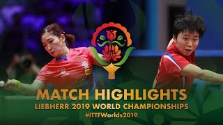 【Video】LIU Shiwen VS KIM Song I, 2019 World Table Tennis Championships best 16