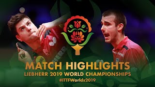 【Video】OVTCHAROV Dimitrij VS PUCAR Tomislav, 2019 World Table Tennis Championships best 32