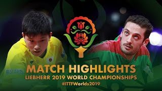 【Video】TOMOKAZU Harimoto VS FREITAS Marcos, 2019 World Table Tennis Championships best 32