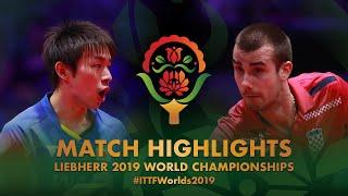 【Video】KOKI Niwa VS PUCAR Tomislav, 2019 World Table Tennis Championships best 16