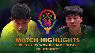 【Video】TOMOKAZU Harimoto VS AN Jaehyun, 2019 World Table Tennis Championships best 16