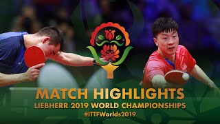 【Video】MA Long VS CALDERANO Hugo, 2019 World Table Tennis Championships best 16