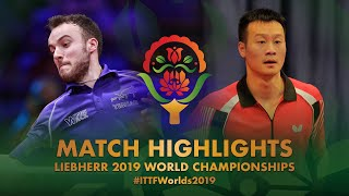 【Video】GAUZY Simon VS WANG Yang, 2019 World Table Tennis Championships best 16